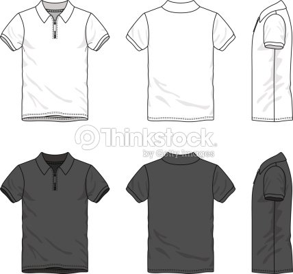 polo tshirt vector art thinkstock. Black Bedroom Furniture Sets. Home Design Ideas