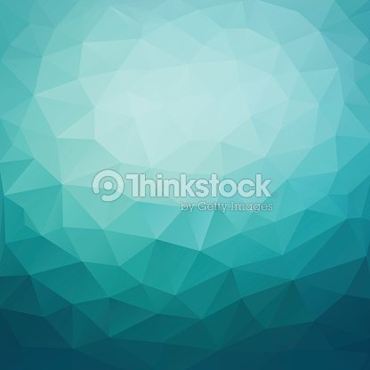 Polygonal Abstract Geometric Dark Blue Triangular Low Poly Style Gradient Background Illustration Vector Art