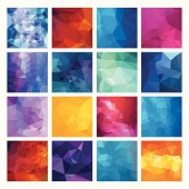Abstract Geometric backgrounds. Polygonal vector design.