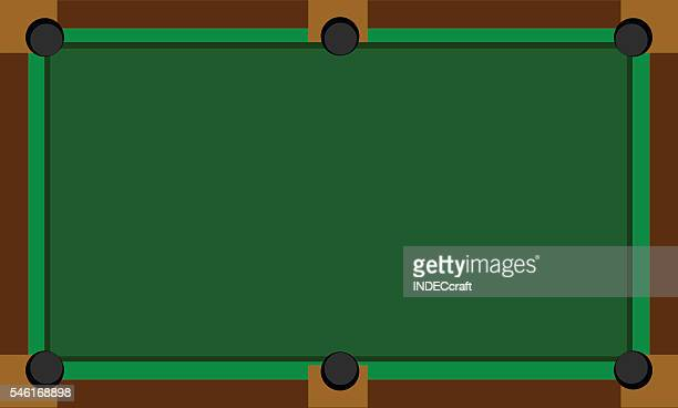 Illustrations et dessins anim s de table de billard for Table vue de haut