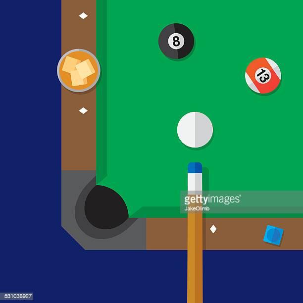 Illustrations et dessins anim s de table de billard for Plan table de billard