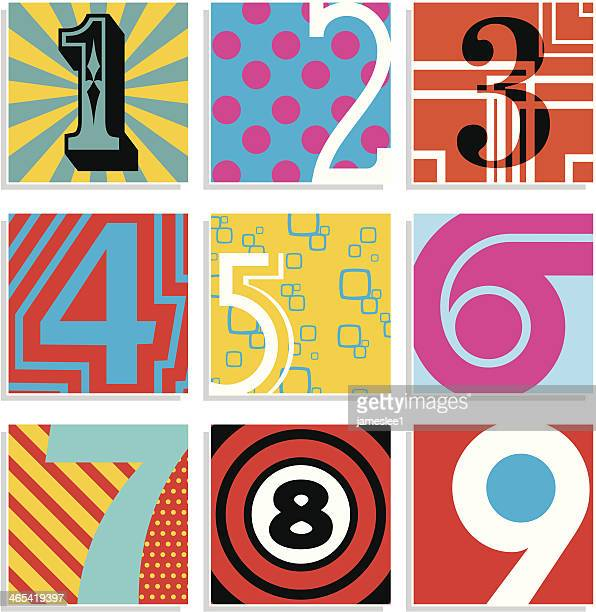 Pop Art Numbers