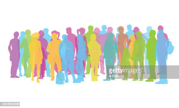 Popsicle Color Crowd