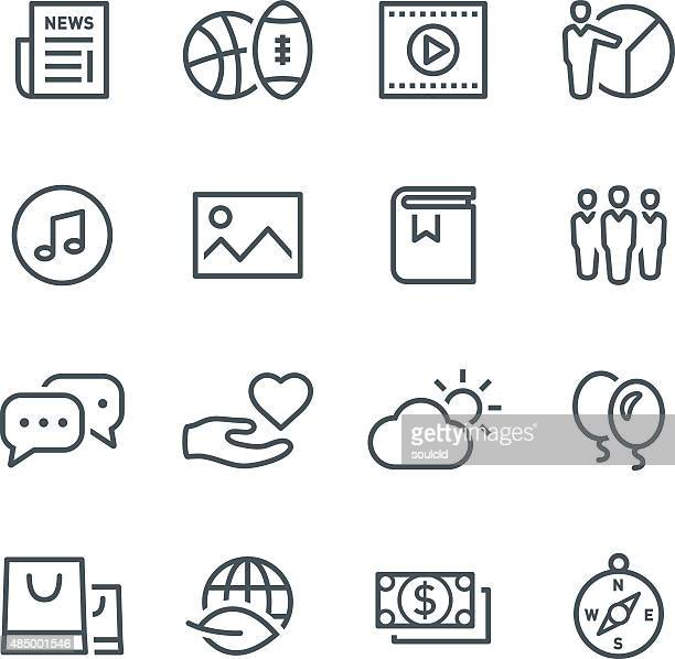 Popular categories icons