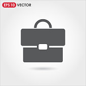 single vector icon on light background