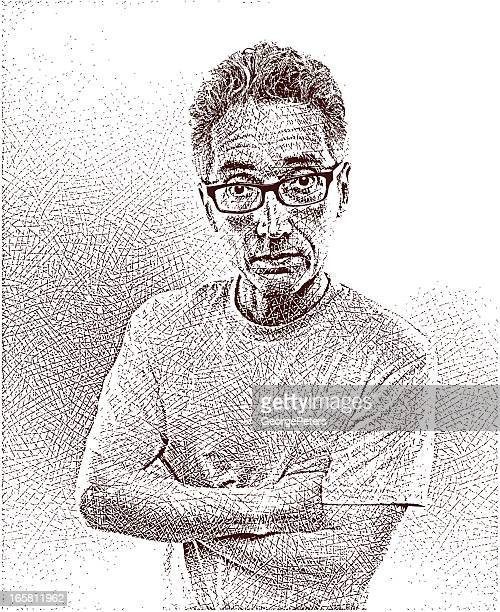 Portrait of Casual Man