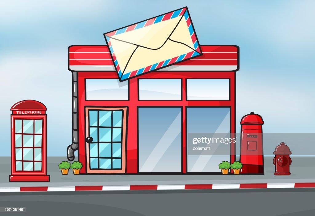 Post office : Vektorgrafik