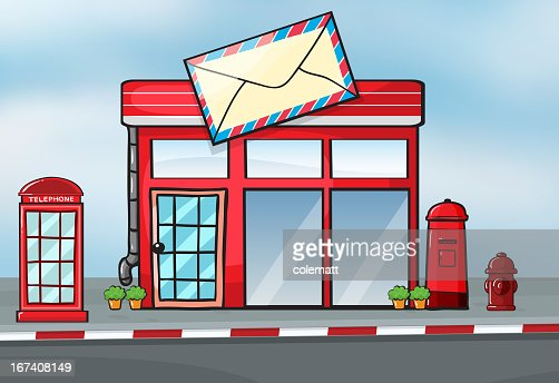Post office : Vector Art