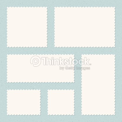 postage stamps templates vector art thinkstock