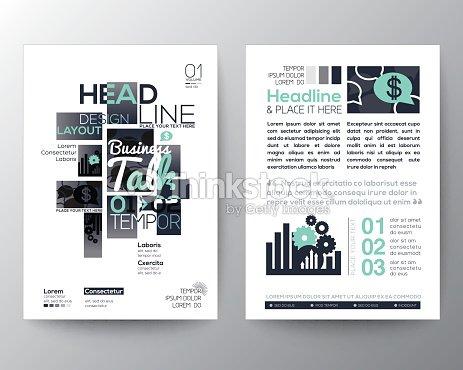 poster brochure flyer design layout vector template vector art
