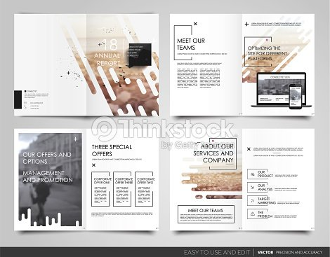poster flyer pamphlet brochure cover design annual report vector art