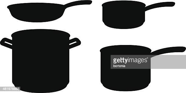 Frying Pan Stock Illustrations And Cartoons | Getty Images