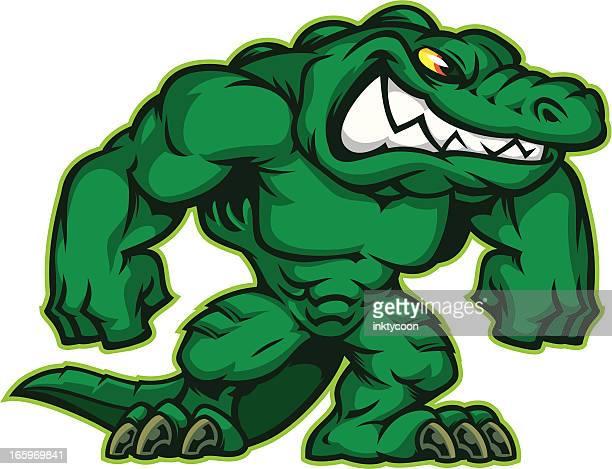 Power Gator Mascot