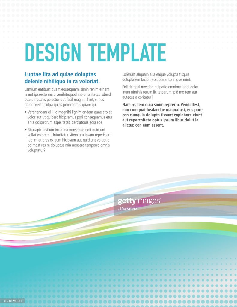 presentation vertical design layout template colorful sample presentation vertical design layout template colorful sample flyer vector art