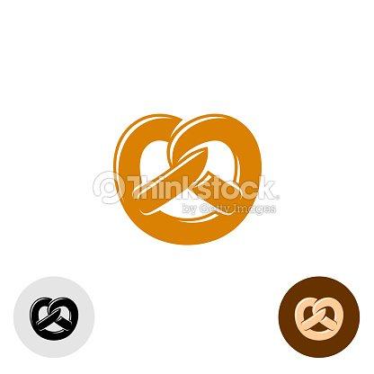 Pretzel Bakery Symbol Vector Art Thinkstock