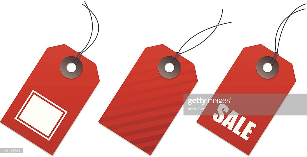 price tags : Vector Art