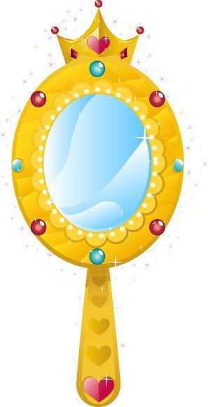 princess mirror clipart - photo #29