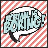 normal is borning, illustration in vector format