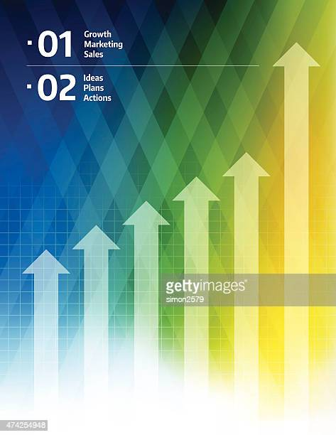 PrintBusiness Graph Background