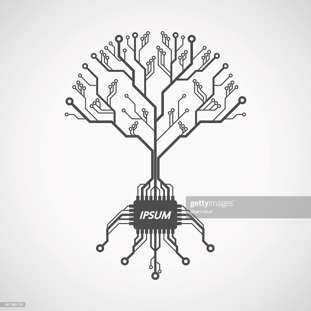 Computer Chip Circuit Diagram Trusted Wiring Diagrams Vector Tree Find U2022 Electrical Schematics For Motherboards