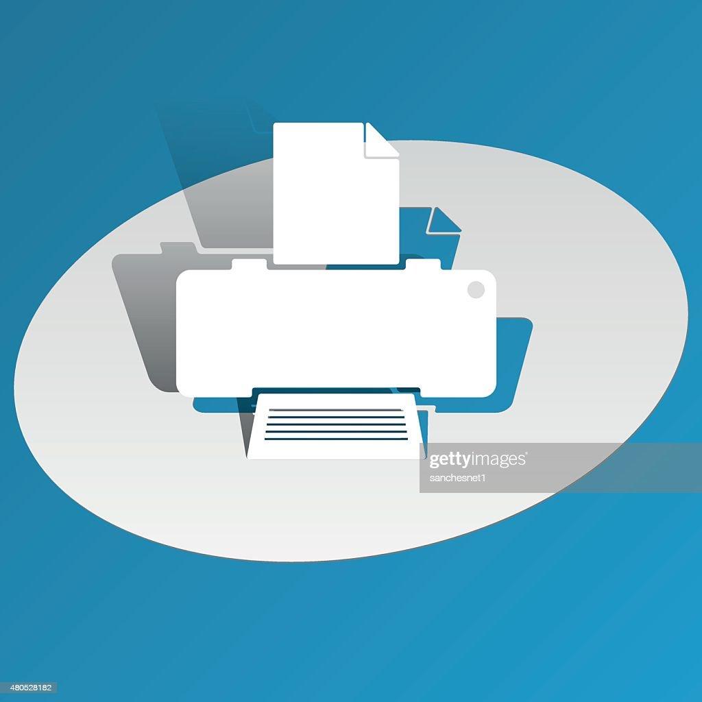 Printer : Vectorkunst