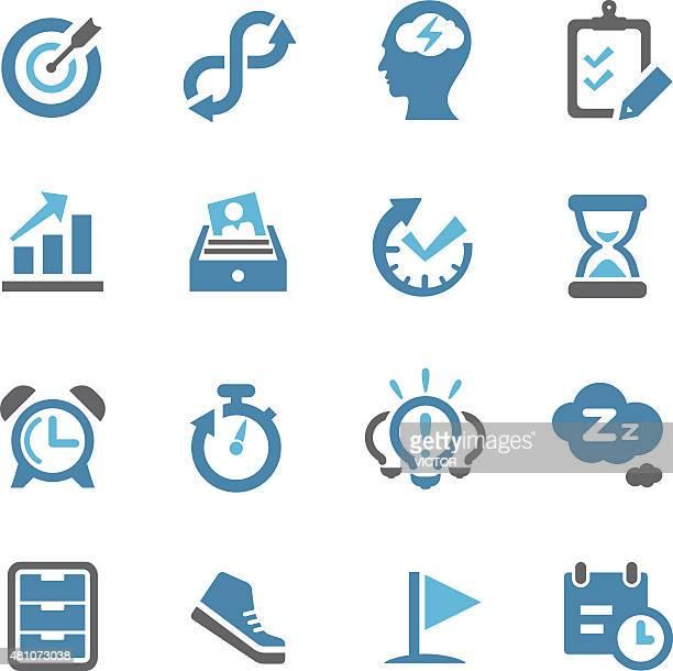 Produttività icone-Conc Series