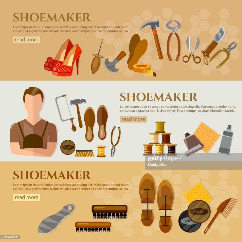 Shoe repair diagram automotive block diagram professional cobbler shoe repair shoe care tools shoemaker vector rh thinkstockphotos com foot shoes designer shoes ccuart Images