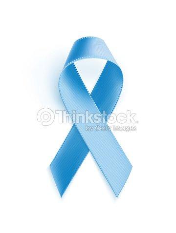 Prostate Cancer Awareness Blue Ribbon Vector Art Thinkstock
