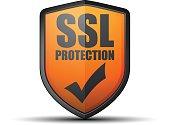 SSL Protection Shield illustration