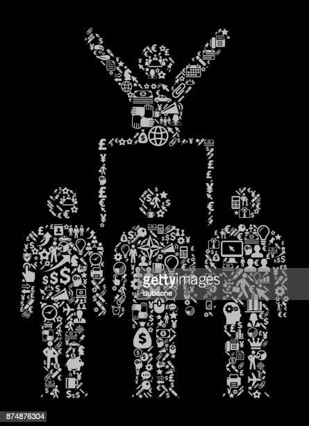 Protest  & Leader Icon Business and Finance Vector Icon Pattern