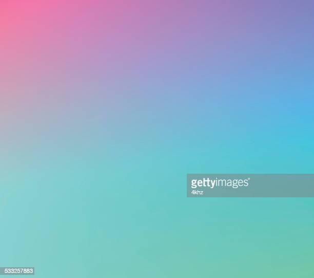 Purple Green Defocus Multi Color Gradient Stock Vector Background