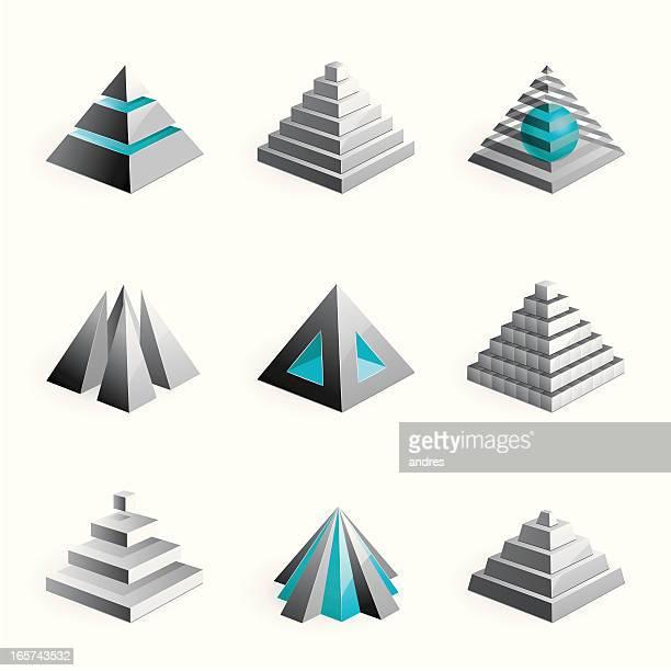 Pyramids - 3D series