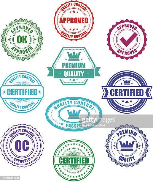 Quality Control badges