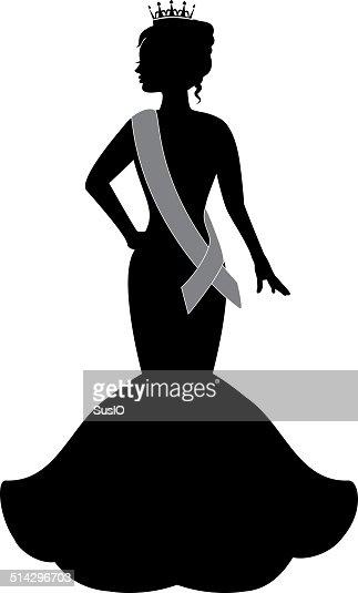 queen of beauty vector art thinkstock