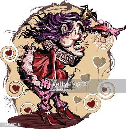 Queen of Hearts : Clipart vectoriel
