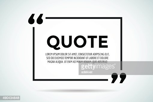 the word quote