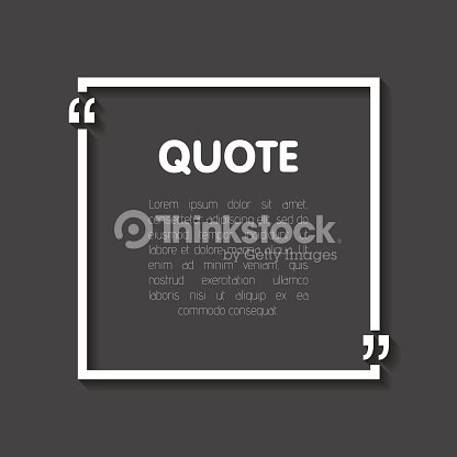 Quote bubble blank templates empty business card paper sheet quote bubble blank templates empty business card paper sheet information text realistic 3d shadow print design vector illustration reheart Image collections