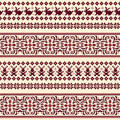 I designed a traditional Nordic pattern