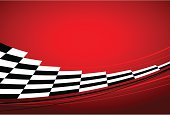 red racing background