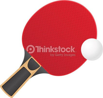 raquette et balle de tennis de table de pingpong vecteur illustration clipart vectoriel thinkstock. Black Bedroom Furniture Sets. Home Design Ideas