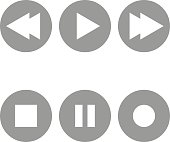 Radio buttons icons.