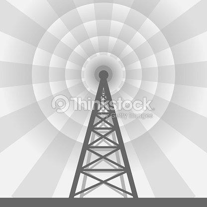Radio Tower Background Vector Art | Thinkstock