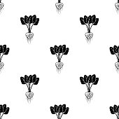 radish icon. Element of roots icons for mobile concept and web apps. Pattern repeat seamlessradish icon can be used for web and mobile on white background