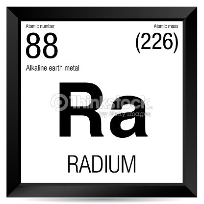 the features of the chemical element radium Radium was discovered by marie sklodowska curie, a polish chemist, and pierre curie, a french chemist, in 1898 marie curie obtained radium from pitchblende, a material that contains uranium, after noticing that unrefined pitchblende was more radioactive than the uranium that was separated from it.