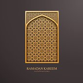 Ramadan design background. come with layers. Useful for islamic design project.