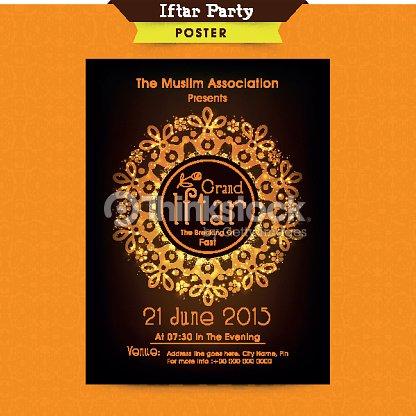 Ramadan kareem iftar party celebration invitation card design vector ramadan kareem iftar party celebration invitation card design vector art stopboris Image collections