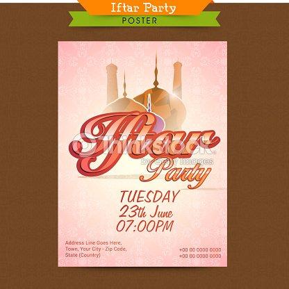 Ramadan kareem iftar party celebration invitation card vector art ramadan kareem iftar party celebration invitation card vector art stopboris Image collections