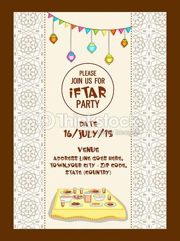 Ramadan kareem iftar party celebration vector art thinkstock ramadan kareem iftar party celebration vector art stopboris Image collections