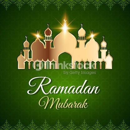 Ramadan mubarak greeting card with mosque vector art thinkstock ramadan mubarak greeting card with mosque vector art m4hsunfo Choice Image