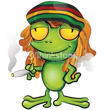 Rasta grenouille dessin anim clipart vectoriel thinkstock - Dessin de rasta ...